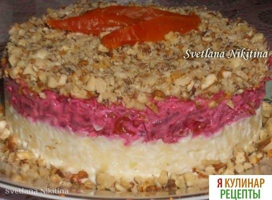 Салат сыр под шубой рецепт
