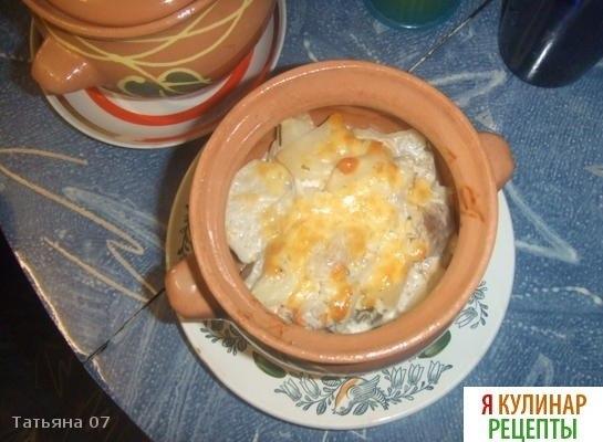 Как сделать картошку в горшочках